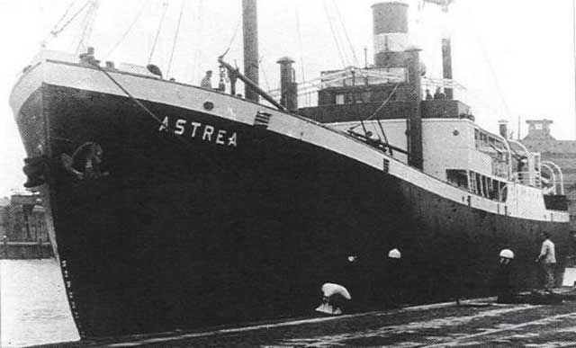 Dutch freighter Astrea sunk on 6 March 1942 worldwartwo.filminspector.com
