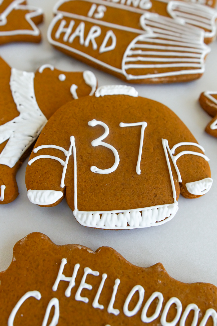 The Catholic Guy Show Gingerbread Cookies, inspired by Lino Rulli, Mark Hart, Tyler Veghte