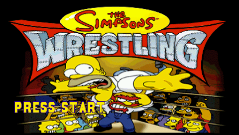 Descargar The Simpsons Wrestling PSP