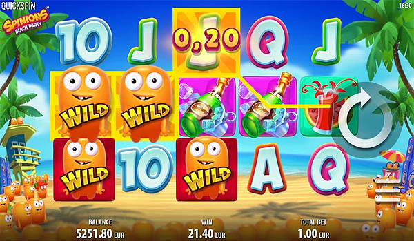 Main Slot Gratis Indonesia - Spinions Beach Party (Quickspin)
