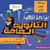 مراجعة قصة الايام لغة عربية ثالث ثانوي بالخرائط الذهنية