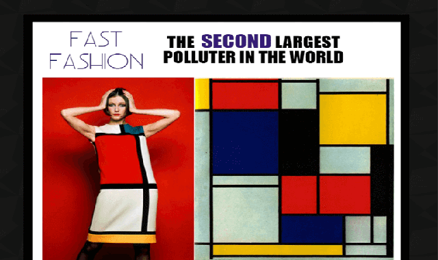 Fast Fashion: The Second Largest Polluter in The World #infographic