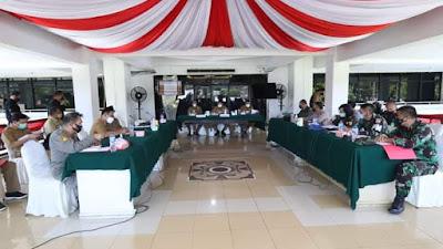 Rapat Evaluasi PPKM di Kota Manado Hasilkan 3 Poin Penting
