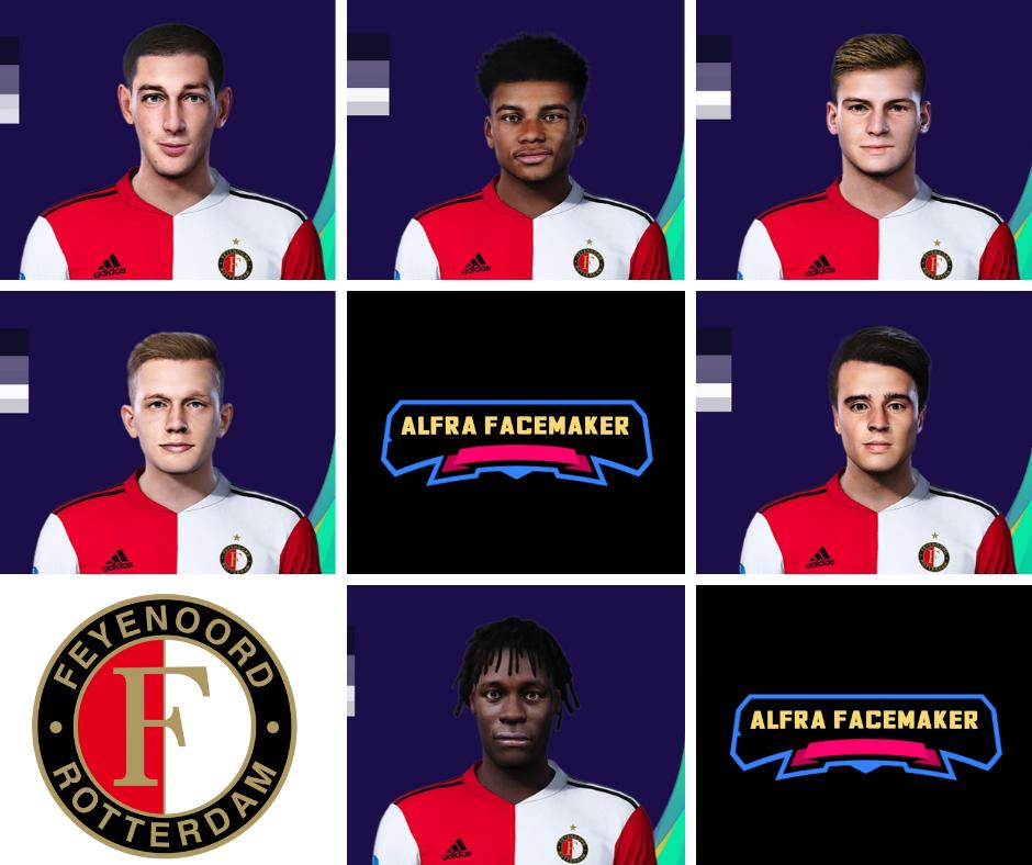 PES 2021 Feyenoord Facepack