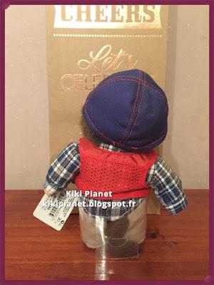 petit kiki streetway marrons yeux rare neuf série 13cm monchhichi bebichhichi casquette chemise