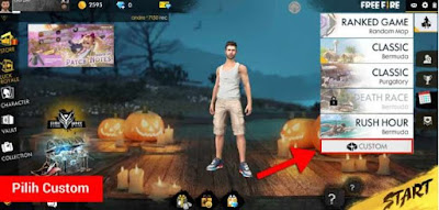 Cara Bikin Custom Room di Free Fire