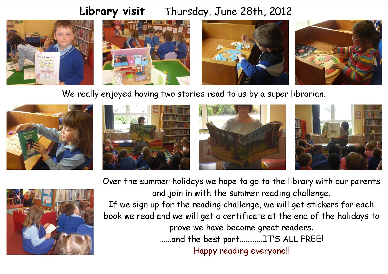 Literacy Site Summer Reading Challenge