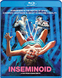 The Vault Masterrs Pick of the Week for 03/03/2020 is Scream Factory's Blu-ray of INSEMINOID!