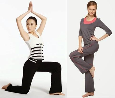 model baju senam yoga