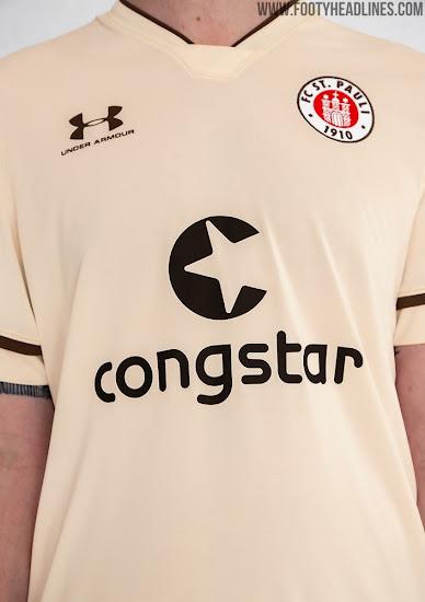 FC St Pauli Trikot Magnet Saison 20//21 Fussball Bundesliga AMBALLCOM