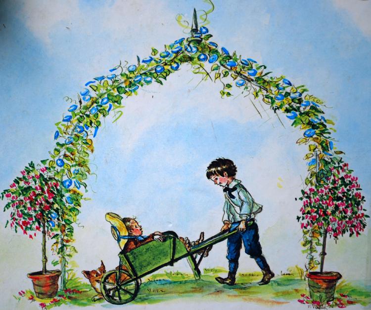 Essay on favorite garden