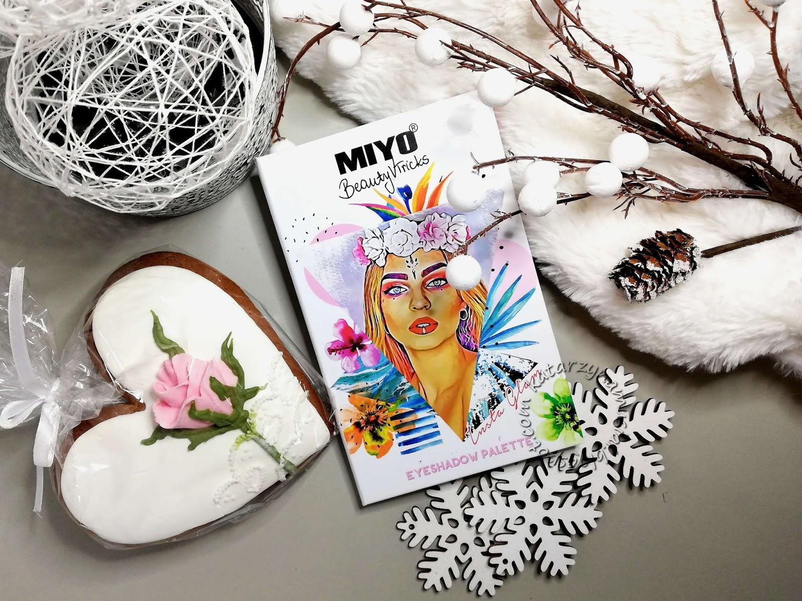 Miyo Insta Glam - genialna paleta za grosze?