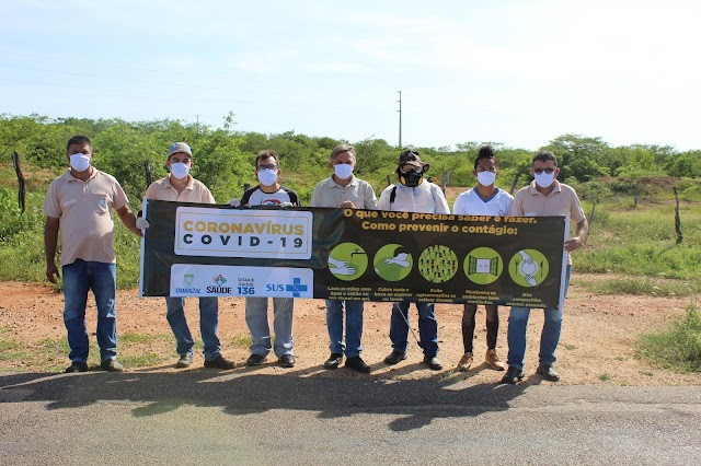 União e ação: governo Elijane, população e servidores barram coronavírus com trabalho de mãos dadas