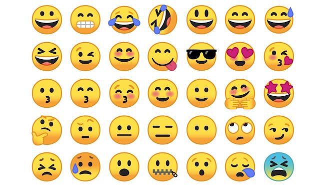 Inilah Tampilan Desain Baru Emoji Android O