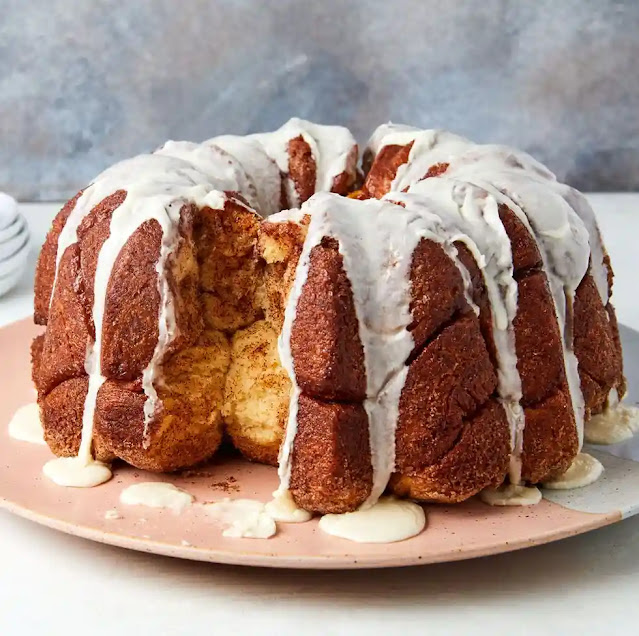 اصنع كيكه خبز القرد