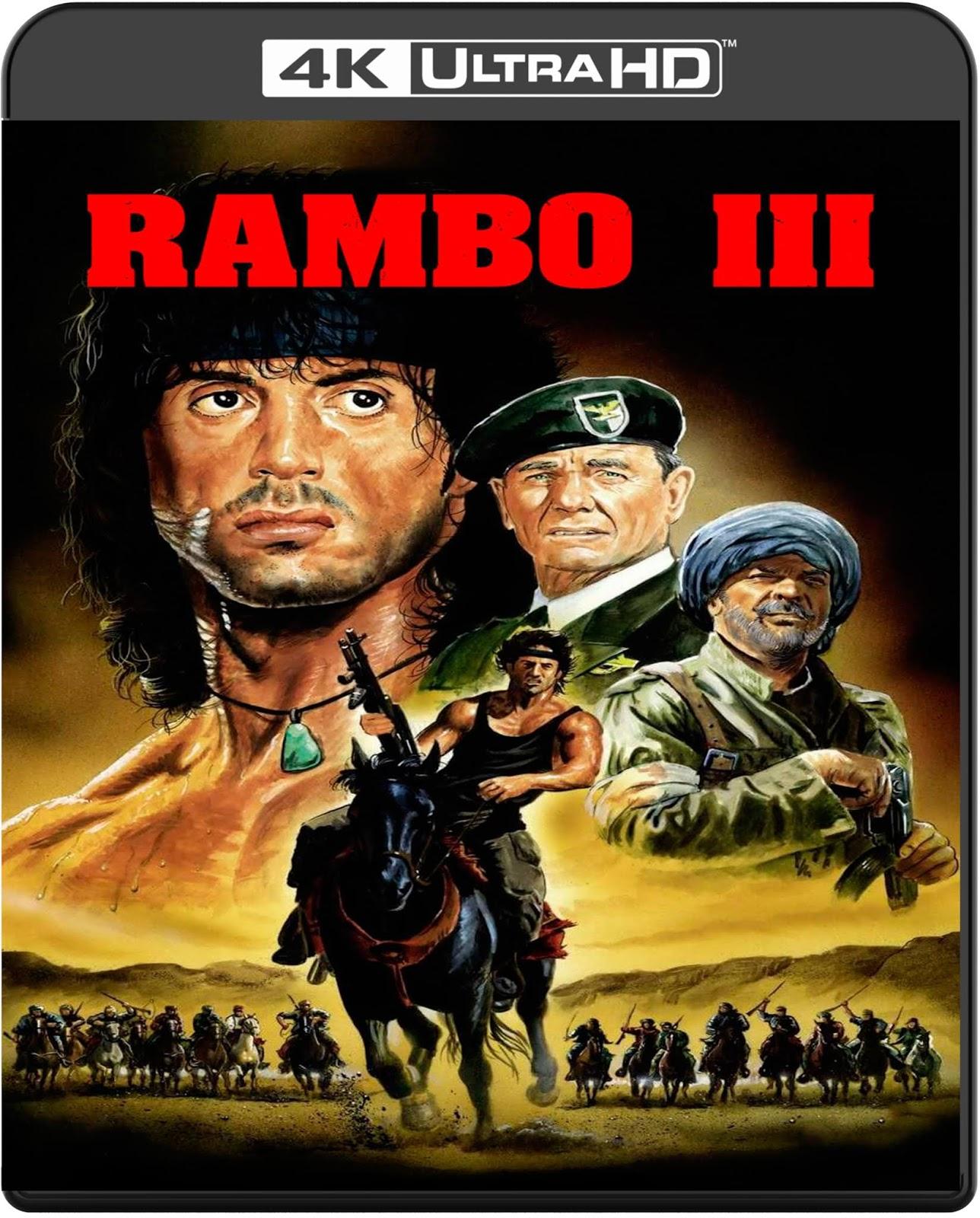 Rambo III [1988] [UHD] [2160p] [Latino]