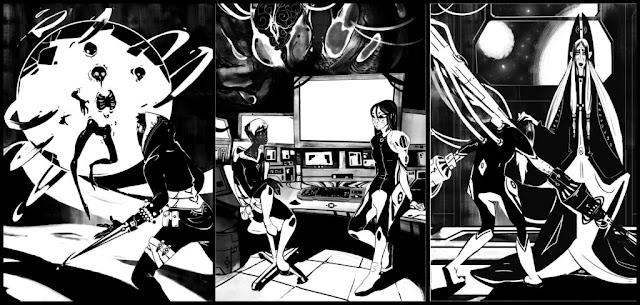 ilustraciones interiores Luc Cerverón