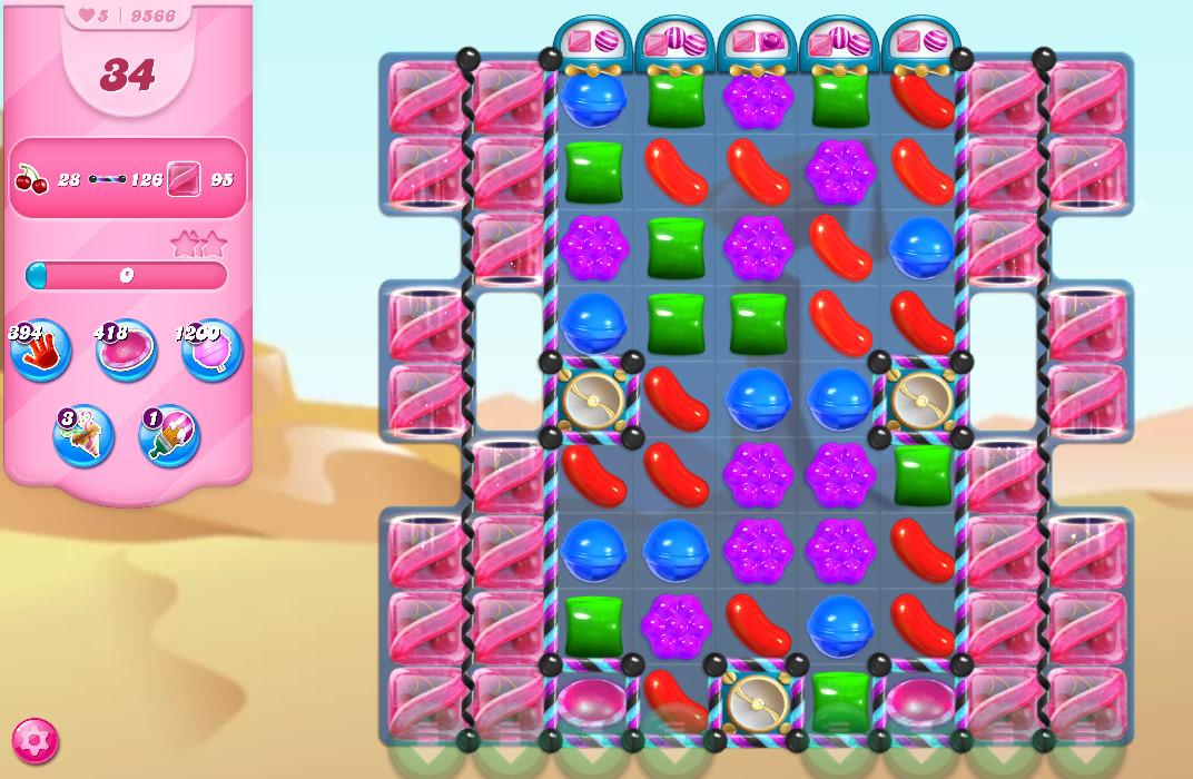 Candy Crush Saga level 9566