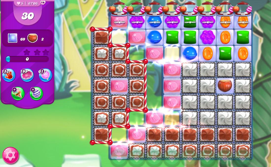 Candy Crush Saga level 6706