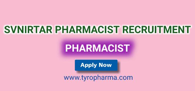 SVNIRTAR Pharmacist Recruitment 2019 – Apply for Pharmacist job in Swami Vivekanand National lnstitute of Rehabilitation Training and Research