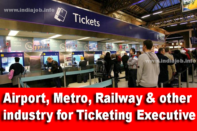 Airport, Metro, Railway & other industry for Ticketing Executive