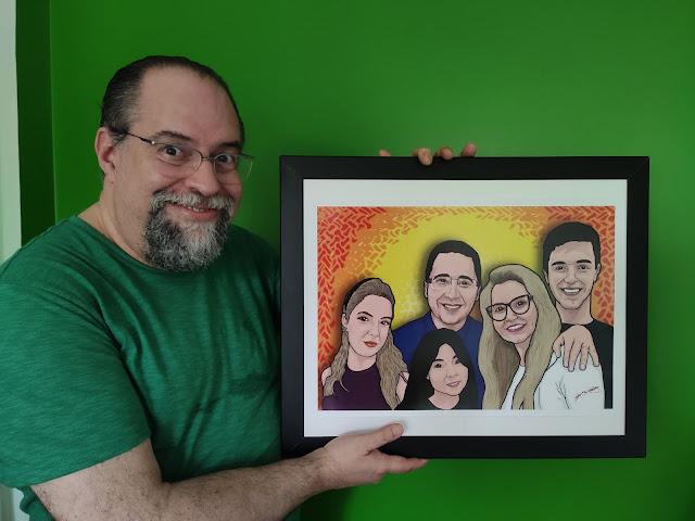 Desenho de família