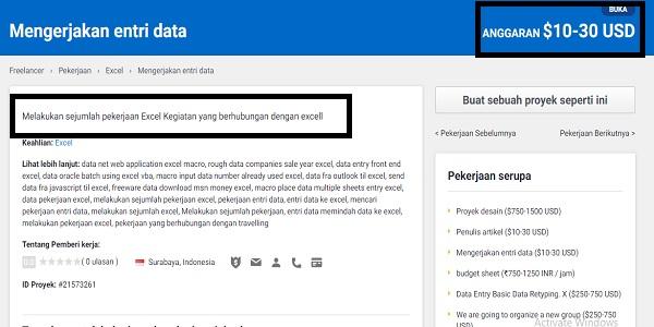 kerja online input data tanpa biaya pendaftaran