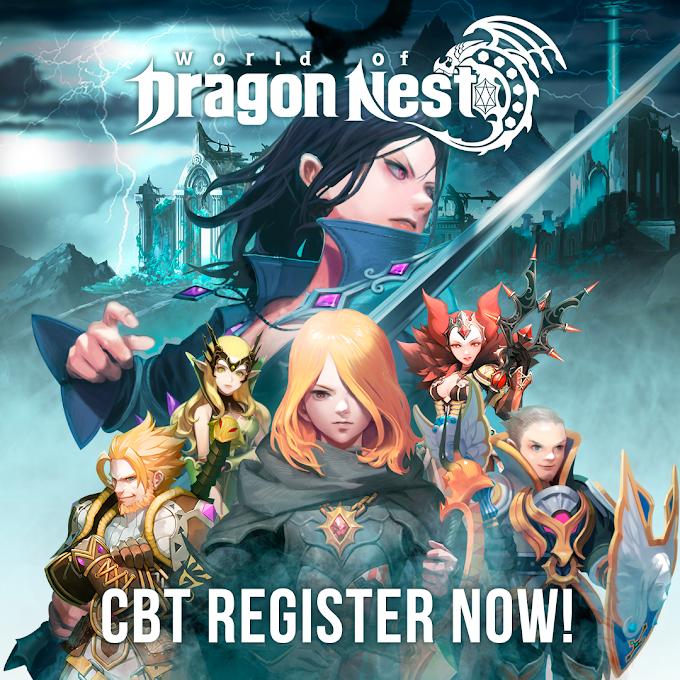 Dragon Nest to Launch Open-World Version: World of Dragon Nest | Closed Beta Test Registration Starts