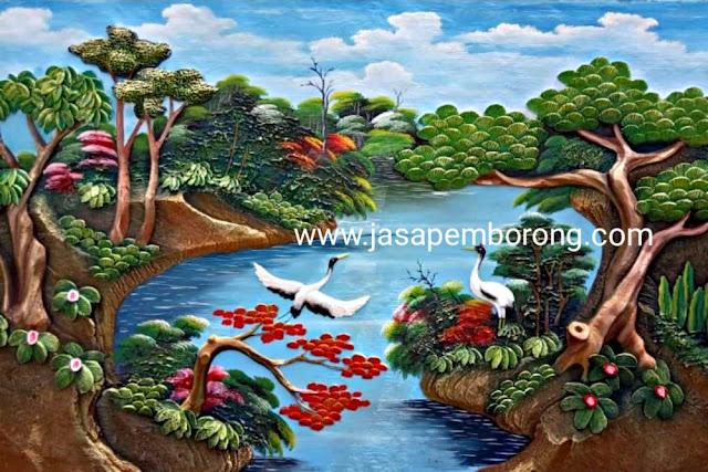 Jasa Tukang Relief Kolam Tebing Salatiga   Desain Pembuatan Dekorasi Kolam Air Terjun di Salatiga