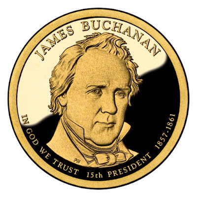 James Buchanan 2010 US Presidential One Dollar Coin