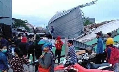 Sebanyak 189 Orang Dirawat di Kabupaten Mamuju Pascagempa M6,2