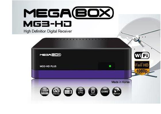 ATUALIZAÇÃO MEGABOX MG3-HD PLUS SATÉLITE V7.24 DE 29-03-16