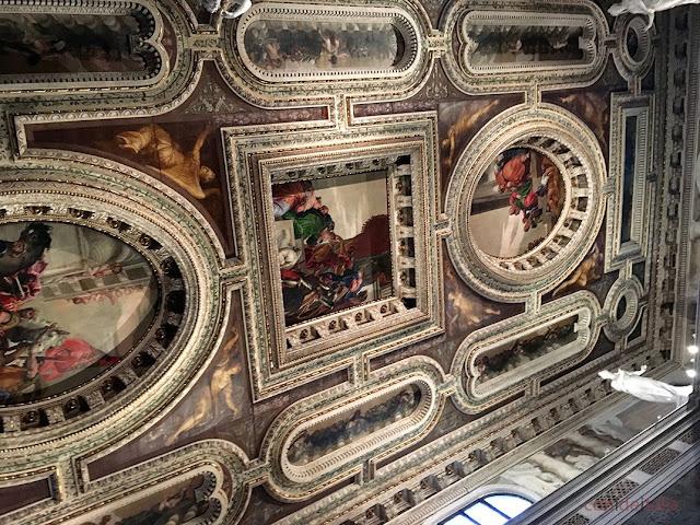Techo de San Sebastiano por Veronés