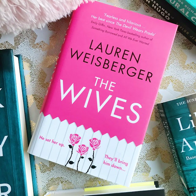The Wives book on gold background