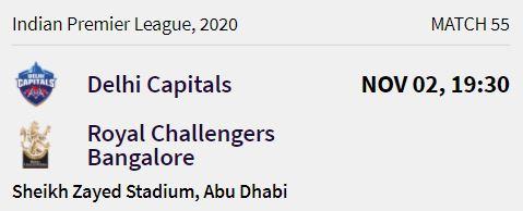 delhi capitals match 14 ipl 2020
