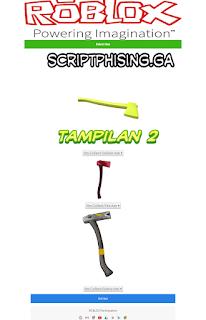 Demo 2 Script Phising Roblox Sendmail Terbaru Tampilan Axe Gratis