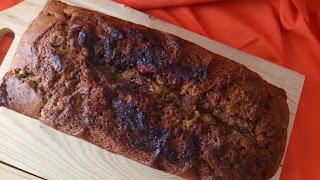 bizcocho plum cake calabaza crema de cacao nocilla nutella suave tierno jugoso esponjoso horno desayuno merienda postre chocolate pumpkin cuca receta