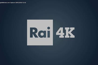 Rai 4K - Frequency On Hotbird 13E