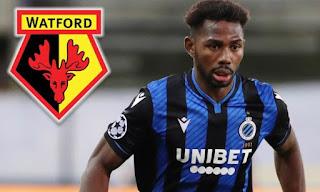 GX SPORT: Super Eagles striker, Emmanuel Dennis joins Premier League club Watford from Club Brugge
