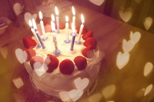 Nentedu Free Birthday Cake And Candles Desktop Wallpapers