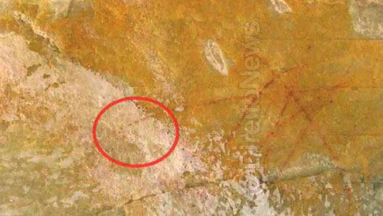 record pintar branco arte rupestre direito