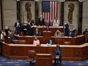 الكونغرس الاميركى صادق على فوز بايدن