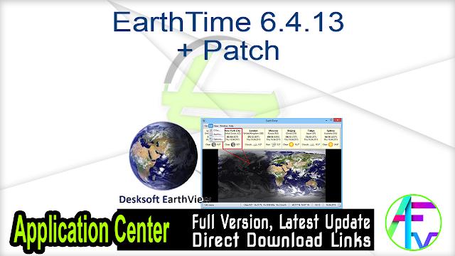 EarthTime 6.4.13 + Patch