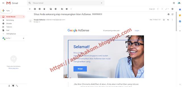 Pengalaman Diterima Google Adsense Terbaru 2019 Setelah Sekali Penolakan