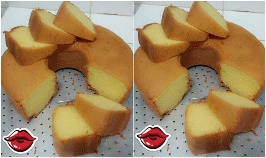 Resep Membuat Cake Kuning Telur Tanpa Pengembang Tapi Tetap Empuk Dan Mengembang