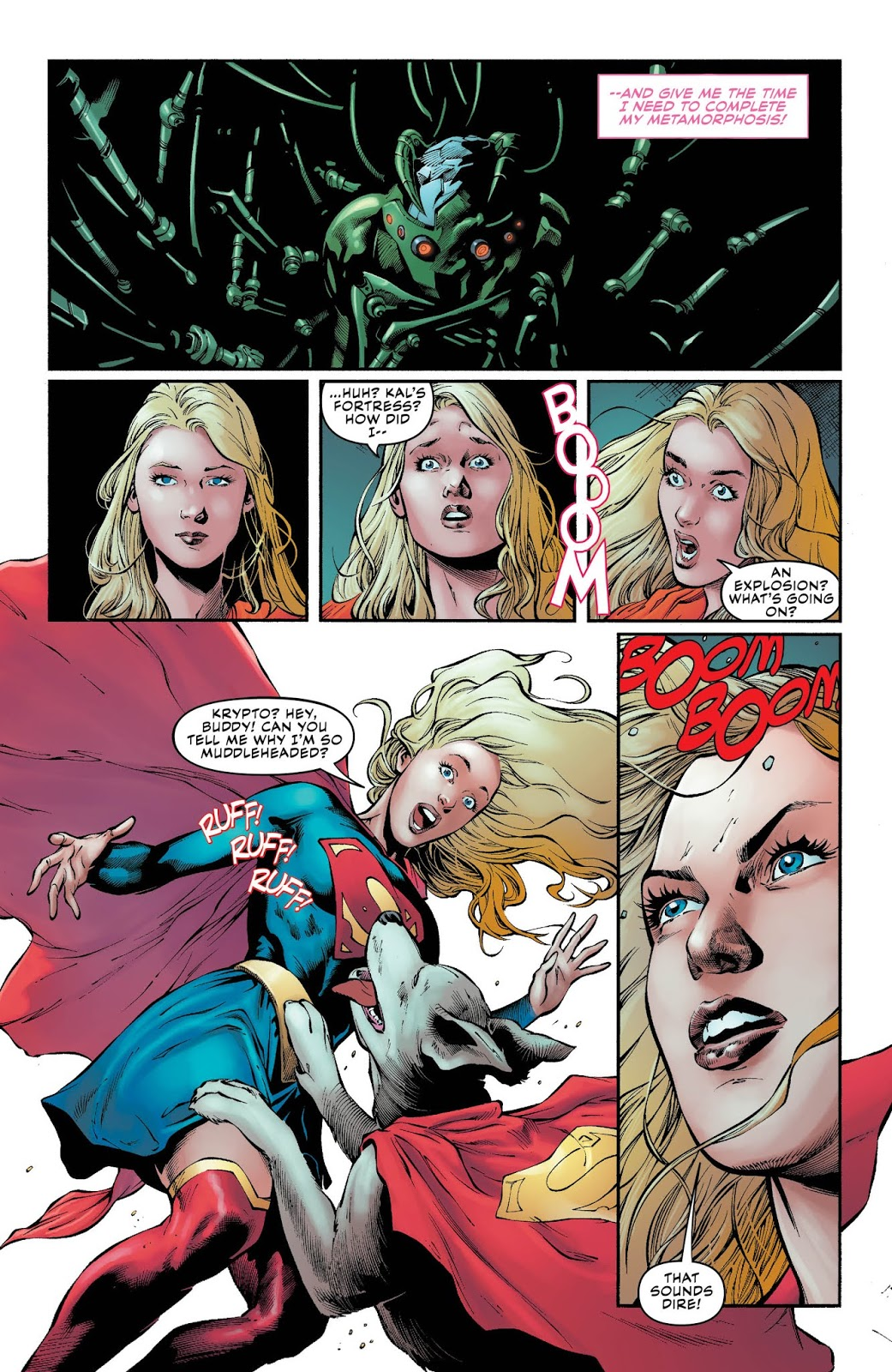 Weird Science Dc Comics Preview Supergirl 36