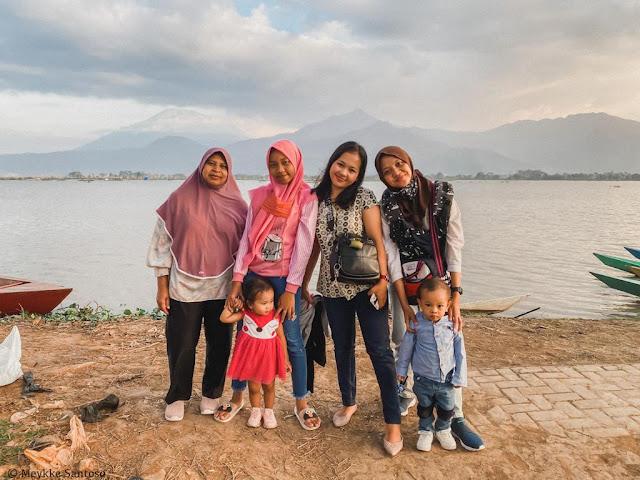 Pemandangan kampung rawa Ambarawa Kabupaten Semarang