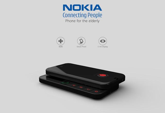 điện thoại cho người già của Nokia