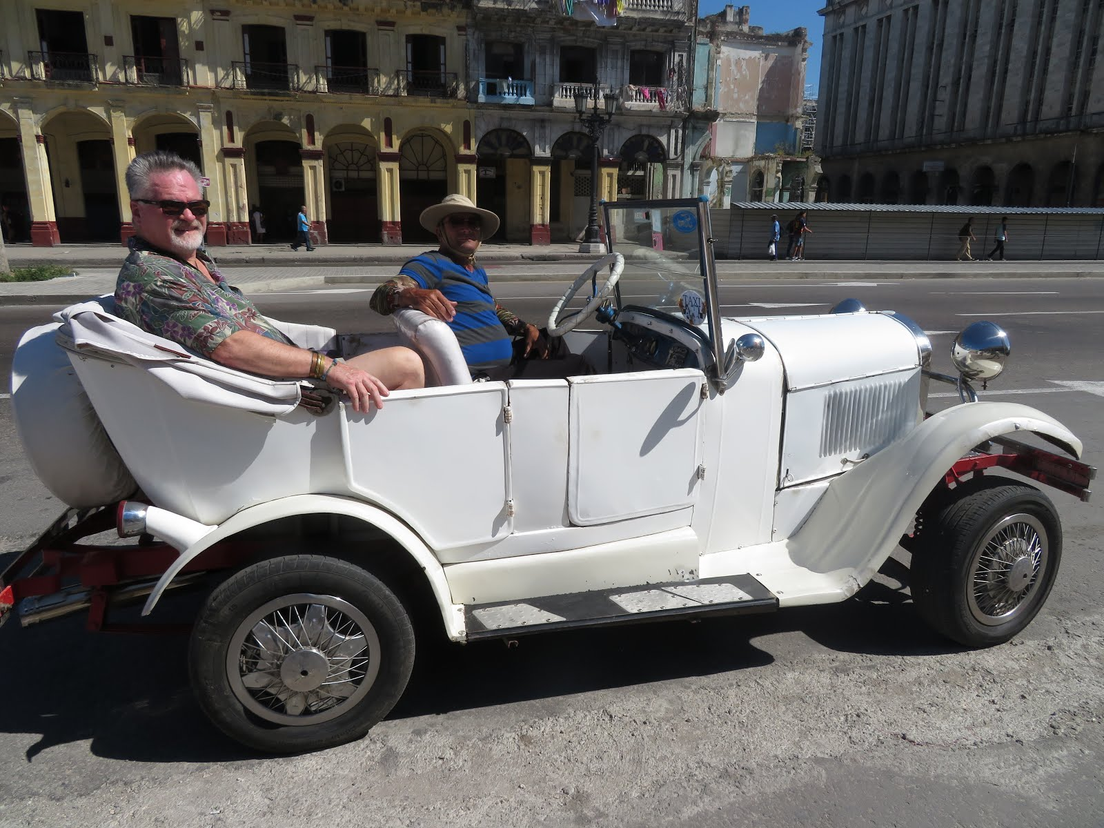 """The ONLY Way To Fly,"" when in Havana"
