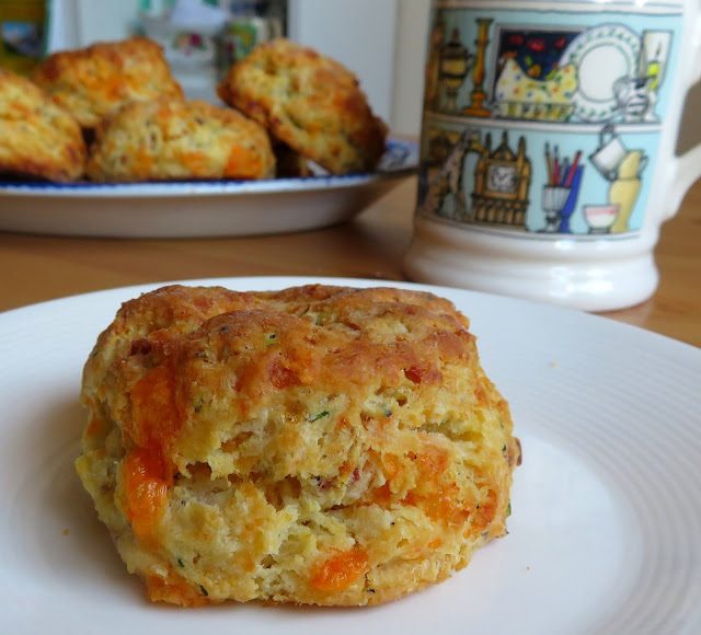 Cheddar, Bacon & Chive Biscuits